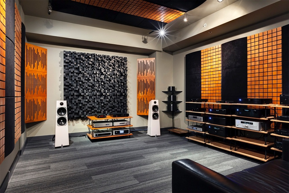 Acoustic Wood Diffusers